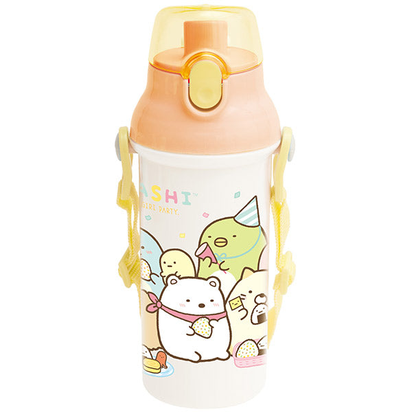 Sumikko Gurashi Direct Drinking One Touch Bottle Rice Ball Party San-X Japan