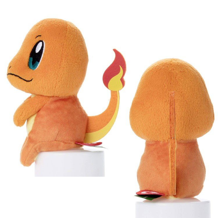 Charmander Hitokage Chokkirisan mini Plush Doll Pokemon Japan