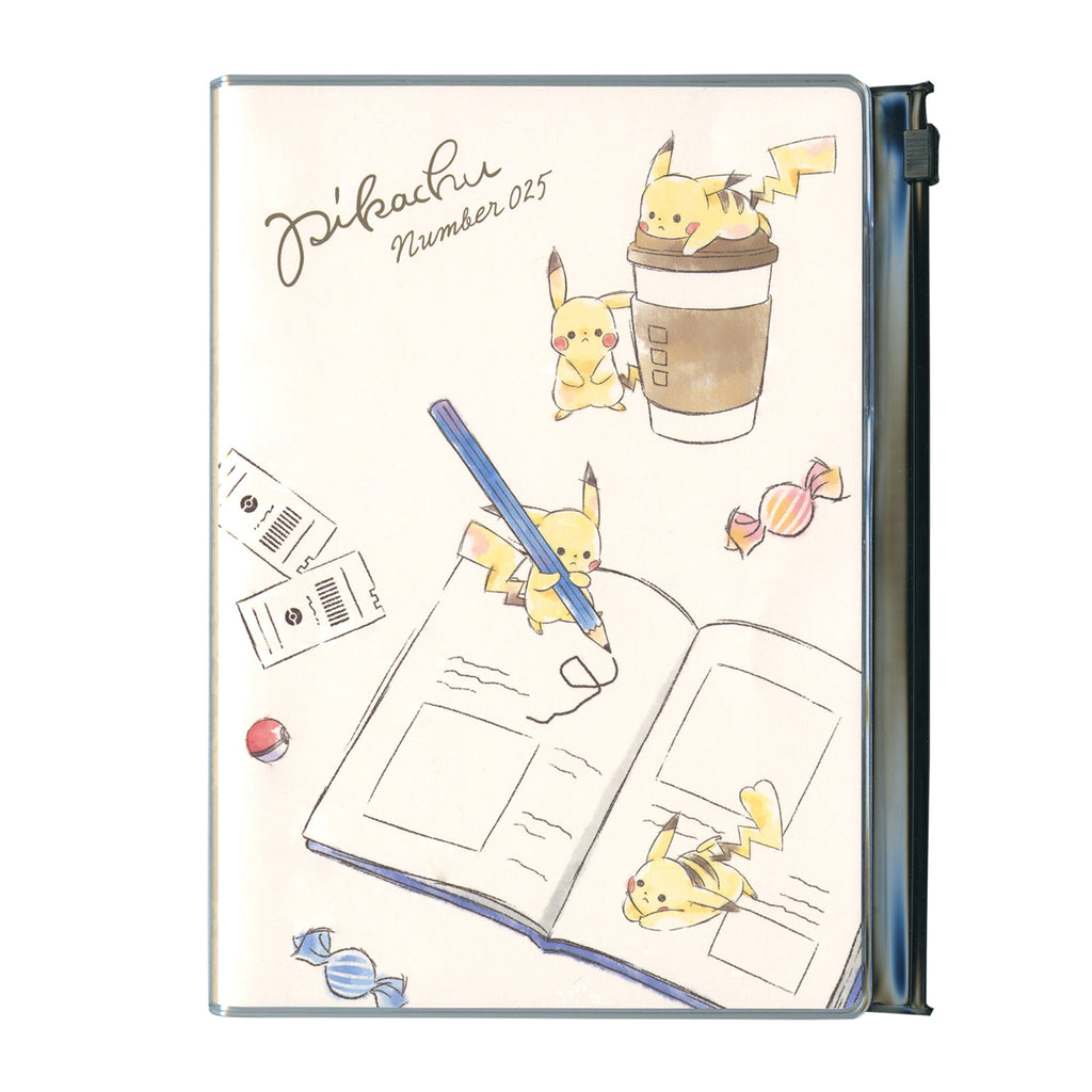 2020 Schedule Book B6 Monthly Pocket Pikachu number025 Pokemon Center Japan