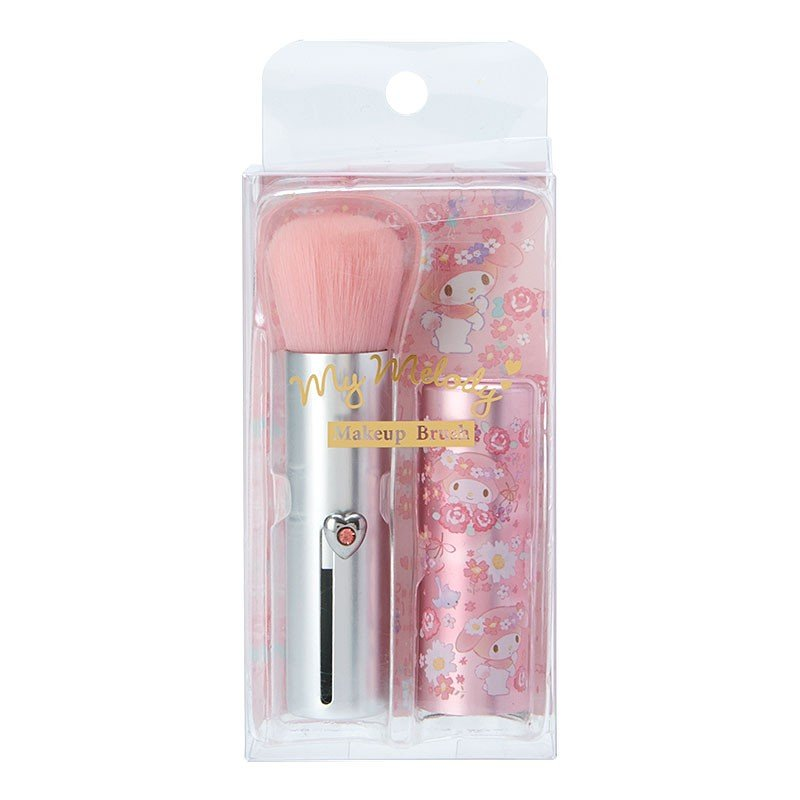 My Melody Makeup Brush Flower Cosmetics Sanrio Japan