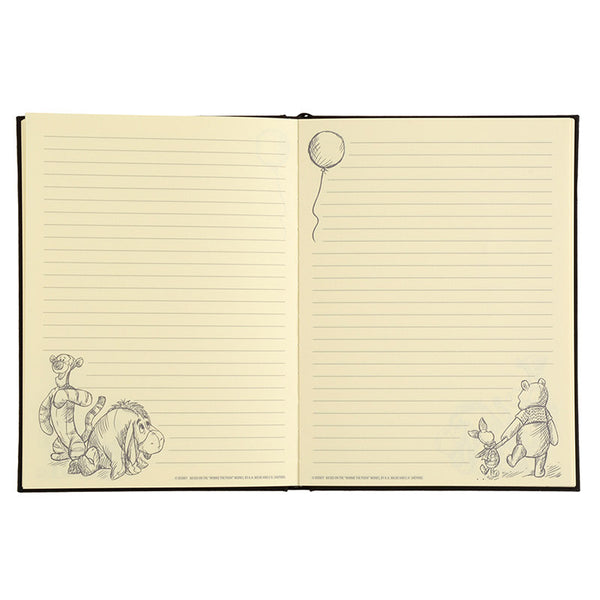 Winnie the Pooh & Friends Notebook Christopher Robin Disney Store Japan