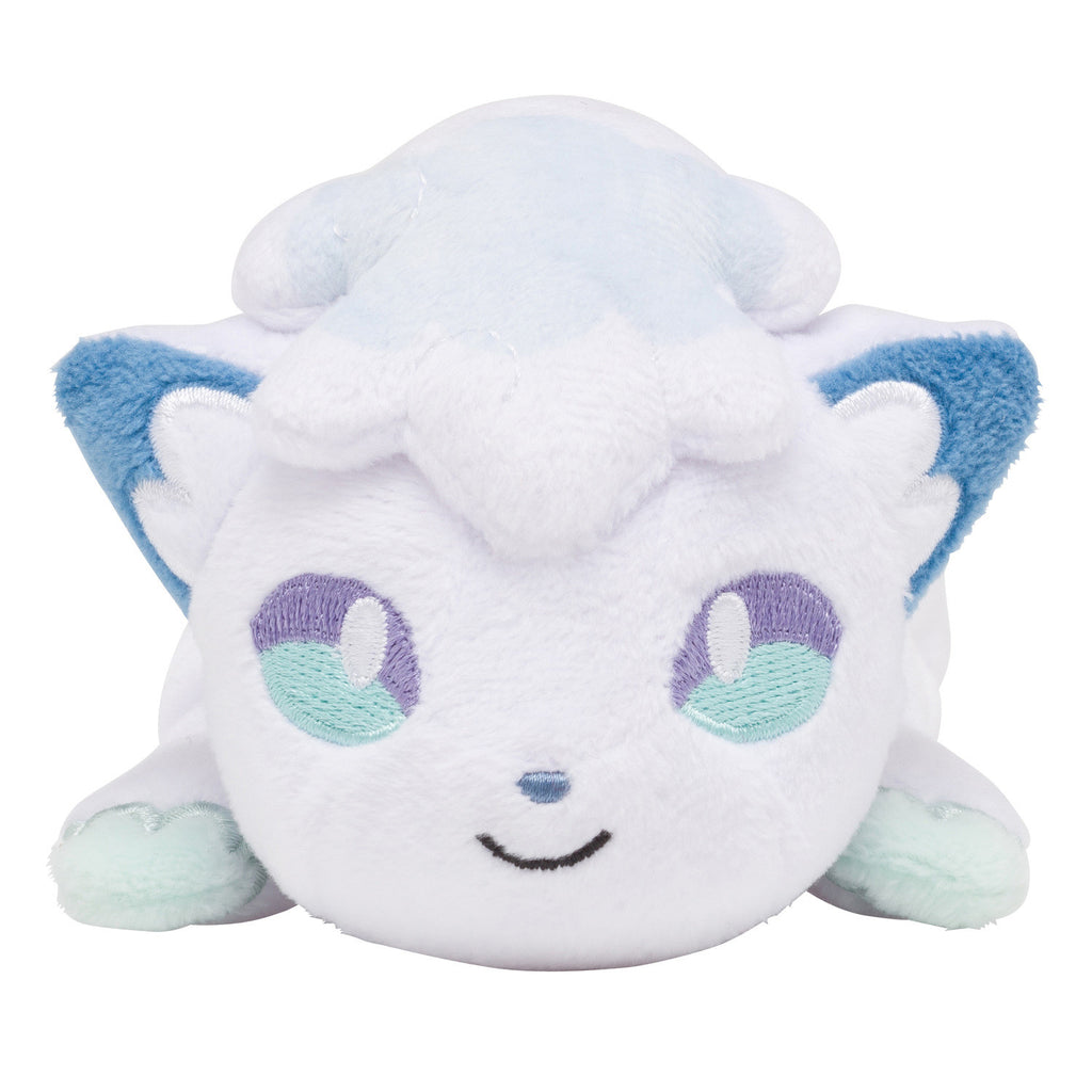 Alolan Vulpix Rokon Kuttari Plush Doll Japan Pokemon Center Original