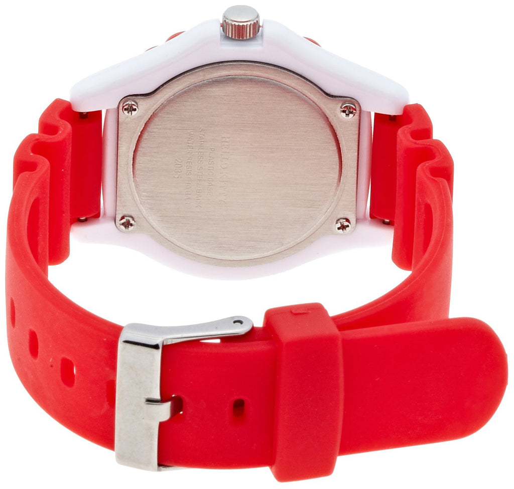 Hello Kitty Wrist Watch Waterproof Red VQ75-232 CITIZEN Q&Q Japan Sanrio