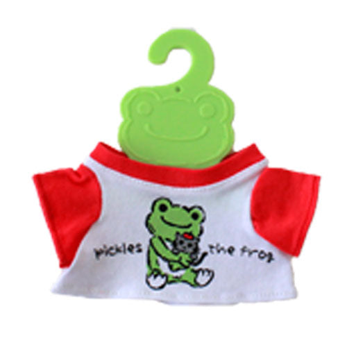 Pickles the Frog Costume for Bean Doll Plush mini T-shirt Cat Pierre Japan