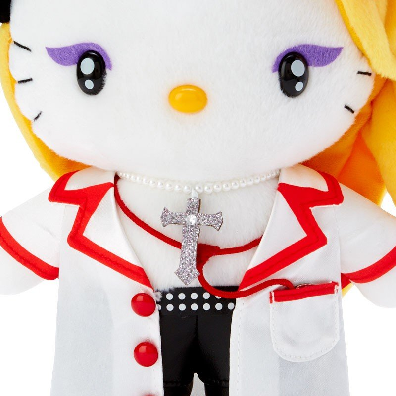yoshikitty Plush Doll Nurse Sanrio Japan Hello Kitty Yoshiki 10th Anniversary