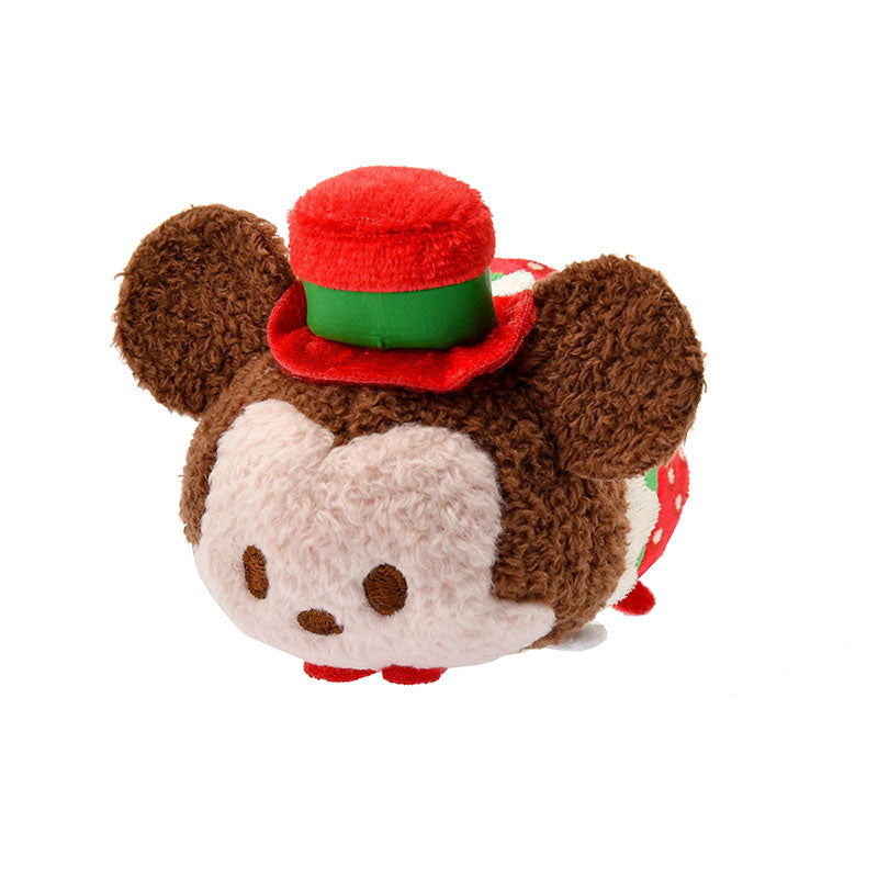 Mickey Tsum Tsum Plush Doll mini S Strawberry Disney Store Japan