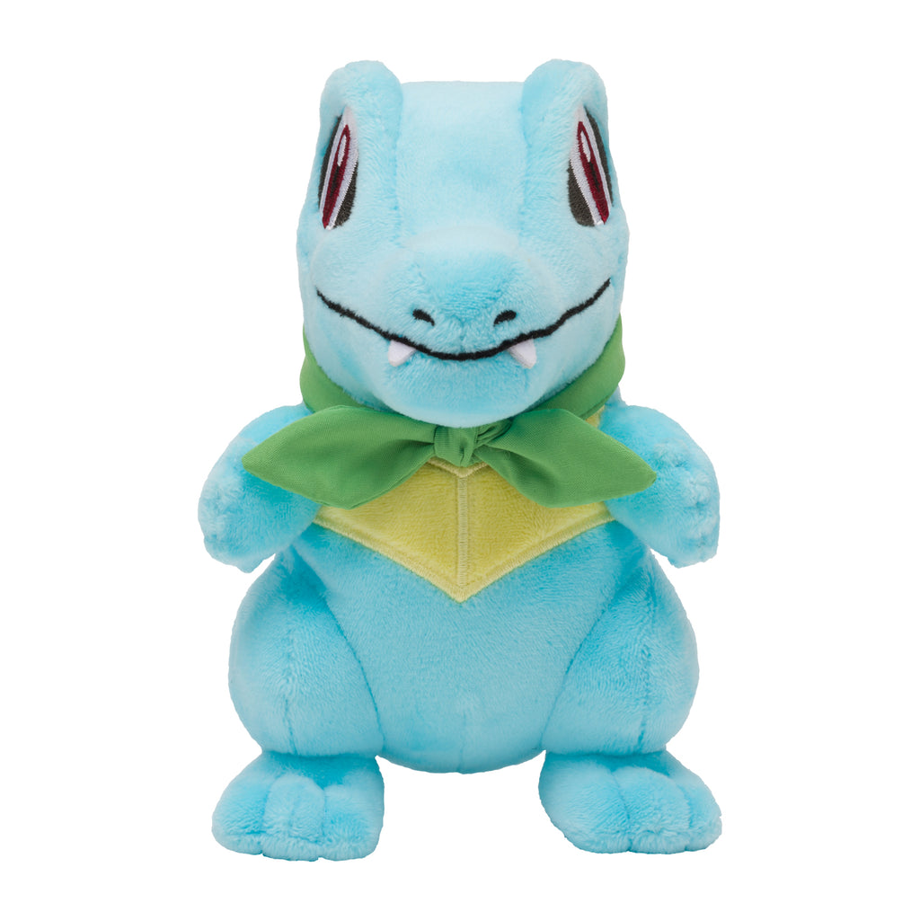 Totodile Waninoko Plush Doll Mystery Dungeon Rescue Team DX Pokemon Center Japan