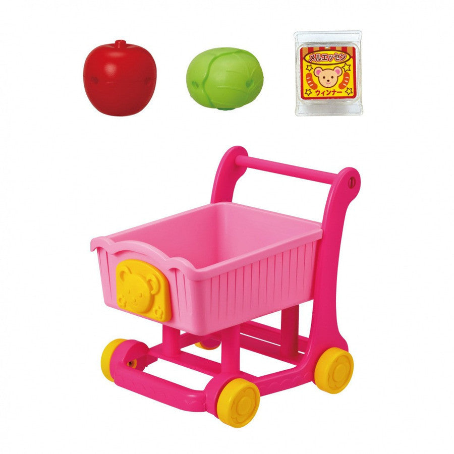 Mell Chan Pretend Play Toy Shopping Cart Set Pilot Japan