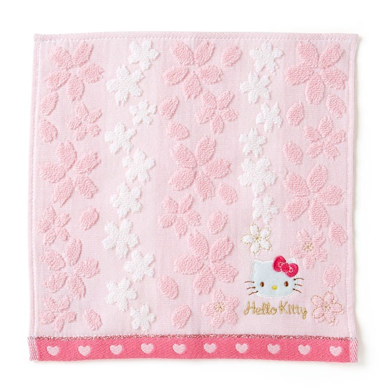 Hello Kitty mini Towel Sakura Sanrio Japan 2020