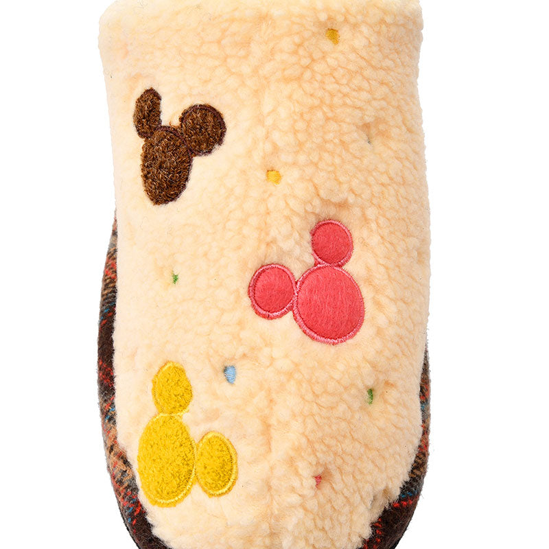 Mickey Boa Slipper M Icon Mokomoko Disney Store Japan