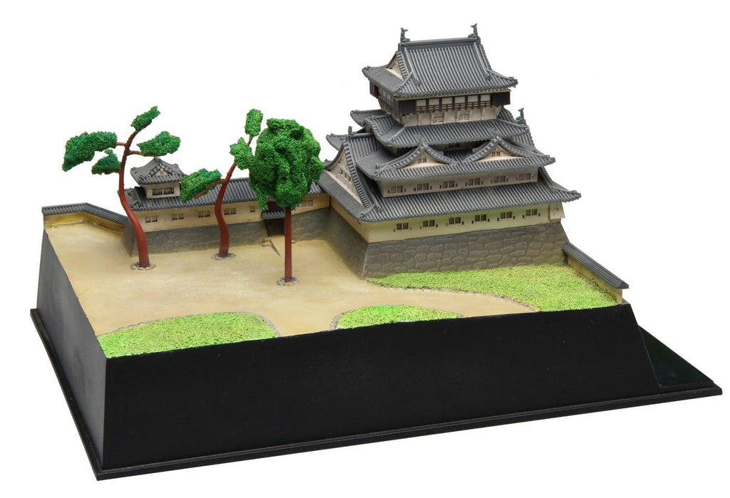1/400 Scale Kokura Castle Plastic Model Kit Fujimi Japan No. 1