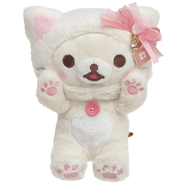 Korilakkuma in the Mirror Plush Doll Pink San-X Japan Rilakkuma