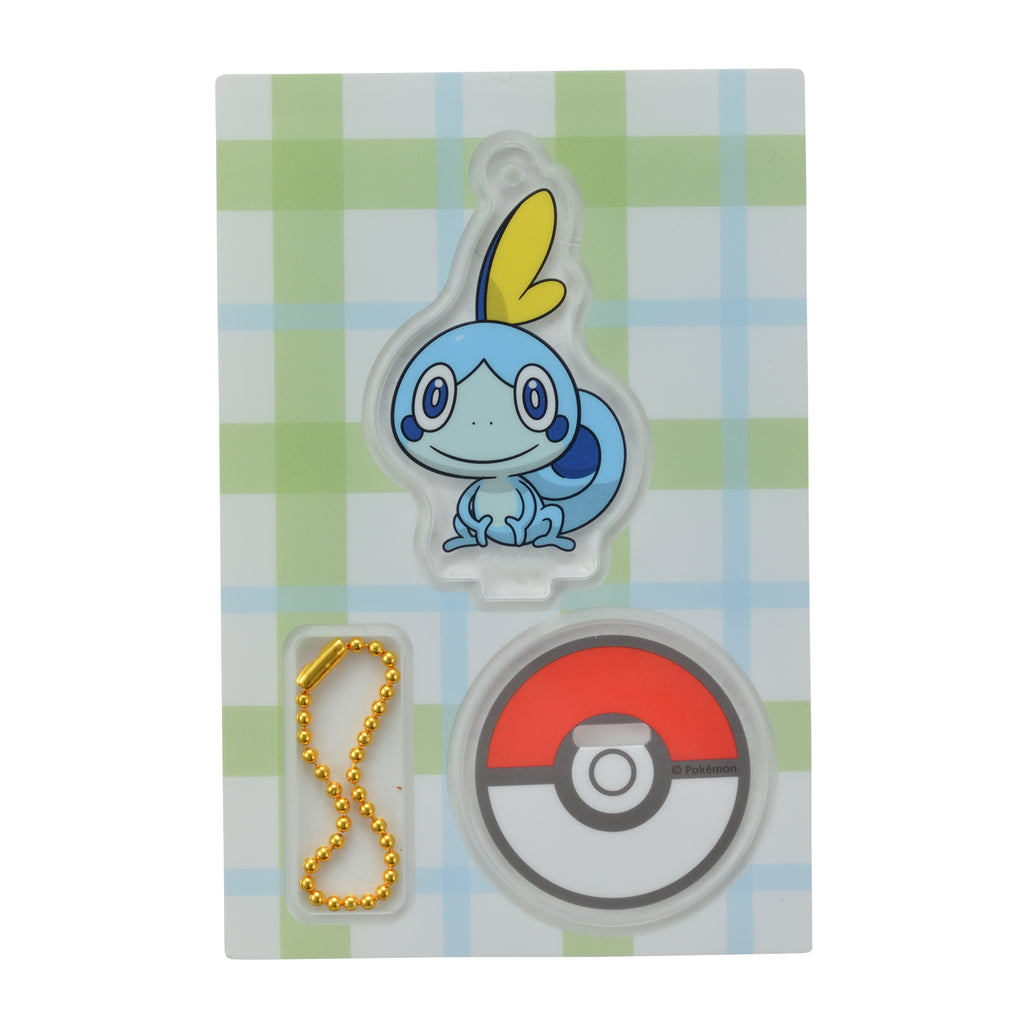 Sobble Messon Acrylic Stand Holder Sword Shield Pokemon Center Japan Original