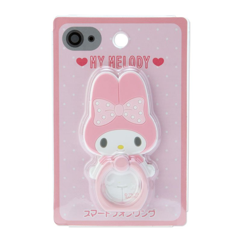 My Melody Smartphone Ring Character Shape Sanrio Japan