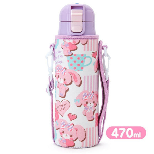 Bonbonribbon Stainless Bottle Tumbler with Cover Sanrio Japan