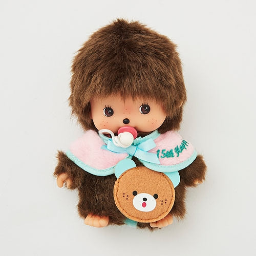 Bebichhichi Doll S Boy 15th ANNIVERSARY HAPPY TRIP Monchhichi Japan