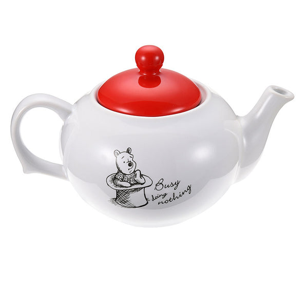 Winnie the Pooh & Friends Teapot Christopher Robin Disney Store Japan