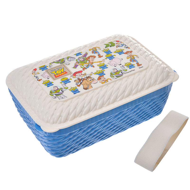 Toy Story Lunch Box Bento L Rattan basket style Disney Store Japan