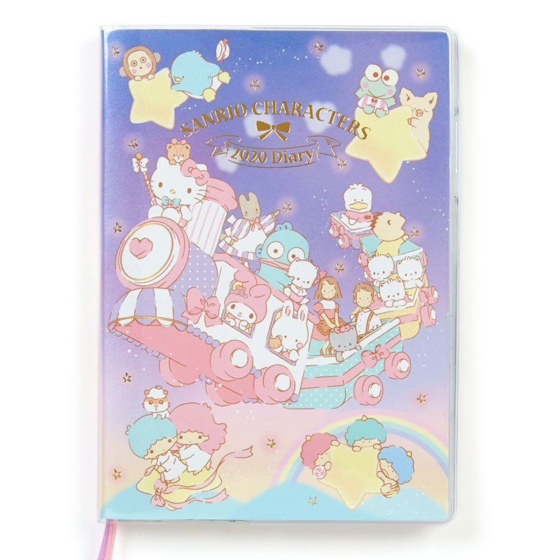 2020 Schedule Book B6 Weekly Wide Sanrio Characters Sanrio Japan Diary