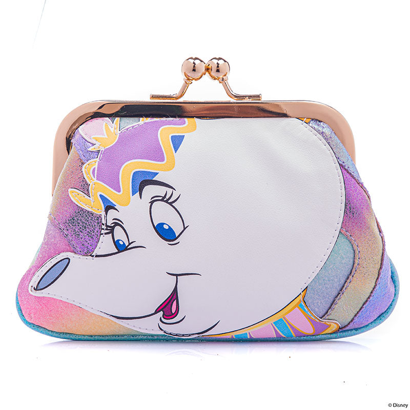 Beauty & Beast Mrs. Potts Chip Clasp Pouch Irregular Choice Disney Store Japan