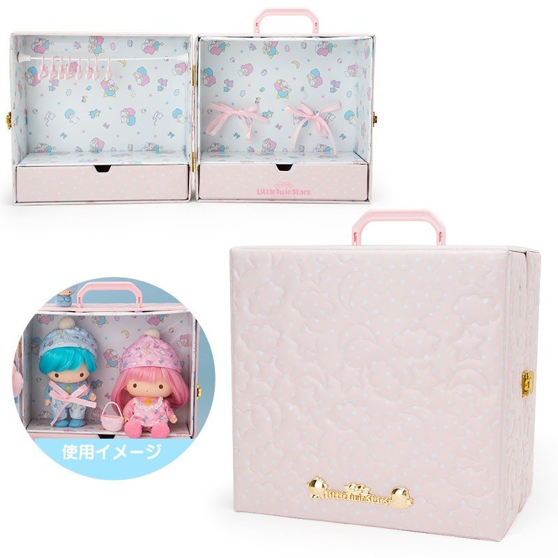 Little Twin Stars Kiki Lala Doll Trunk House Sanrio Japan