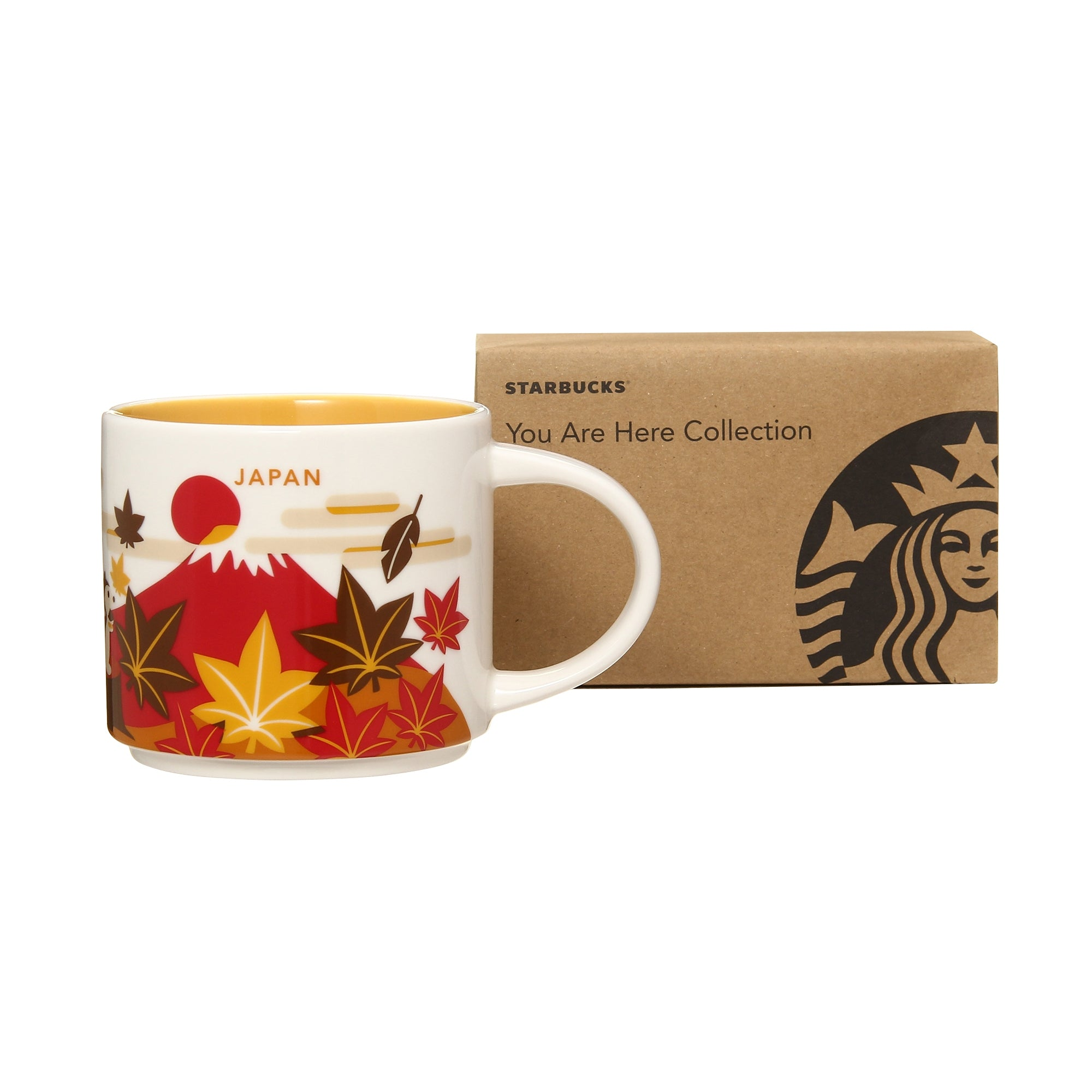 You Are Here Collection Mug Cup Japan Autumn 414ml Starbucks 2019