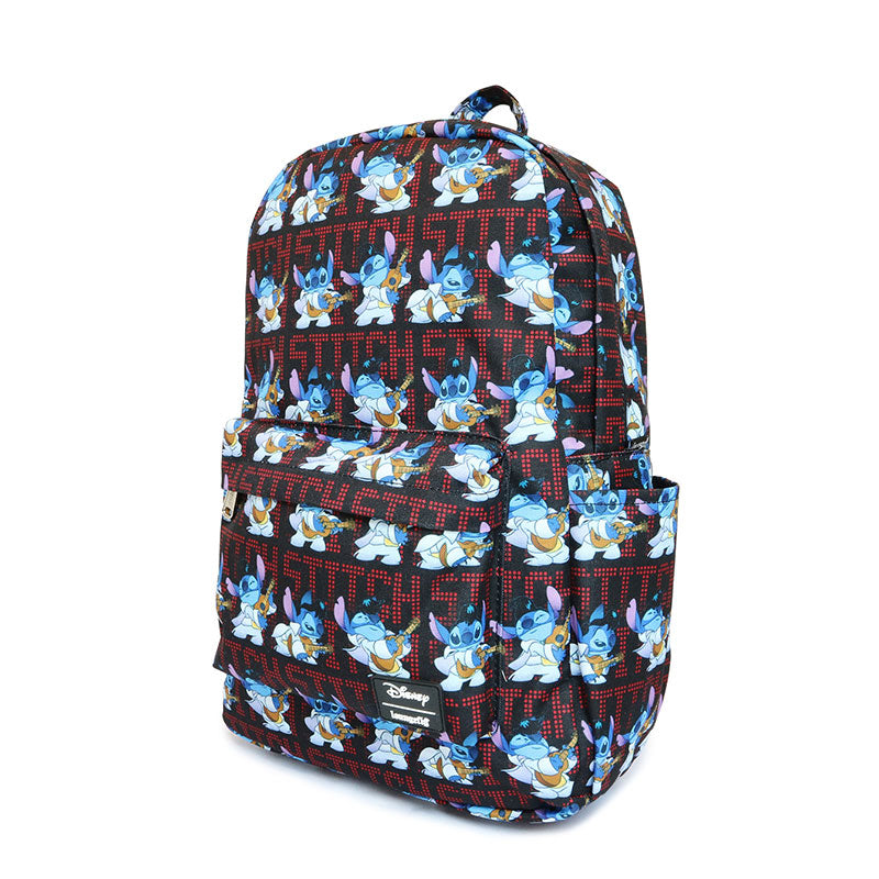 Lilo & Stitch Backpack Elvis Presley Loungefly Disney Store Japan