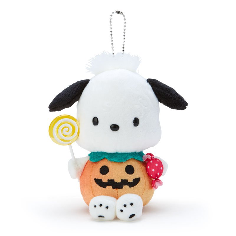 Pochacco Plush Mascot Holder Keychain Sanrio Japan Halloween 2020
