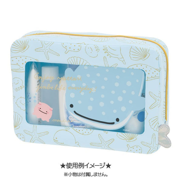 Jinbei San Whale Shark Window Pouch Deep Sea Friends San-X Japan
