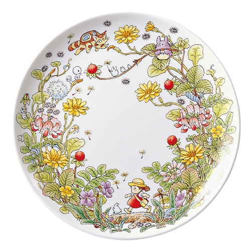 My Neighbor Totoro Plate 23cm Ghibli Noritake Japan Strawberry Gift Box