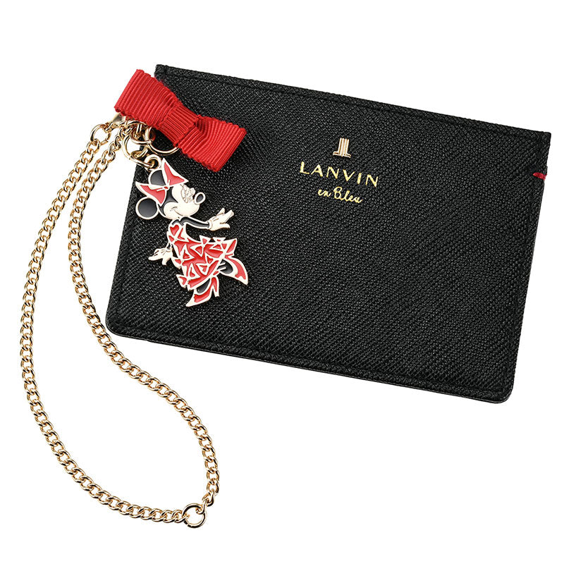 Minnie Day 2020 Pass Card Case LANVIN en Bleu Disney Store Japan