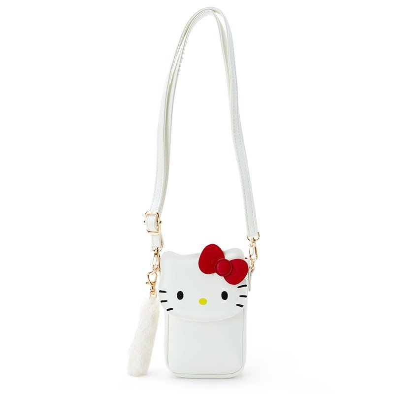 Hello Kitty Pochette Bag Vertical type Sanrio Japan