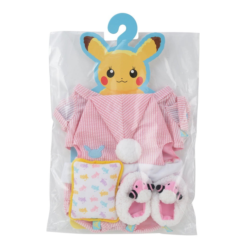 Costume for Plush Pajama (female) Pikachu's Closet Japan Pokemon Center Original