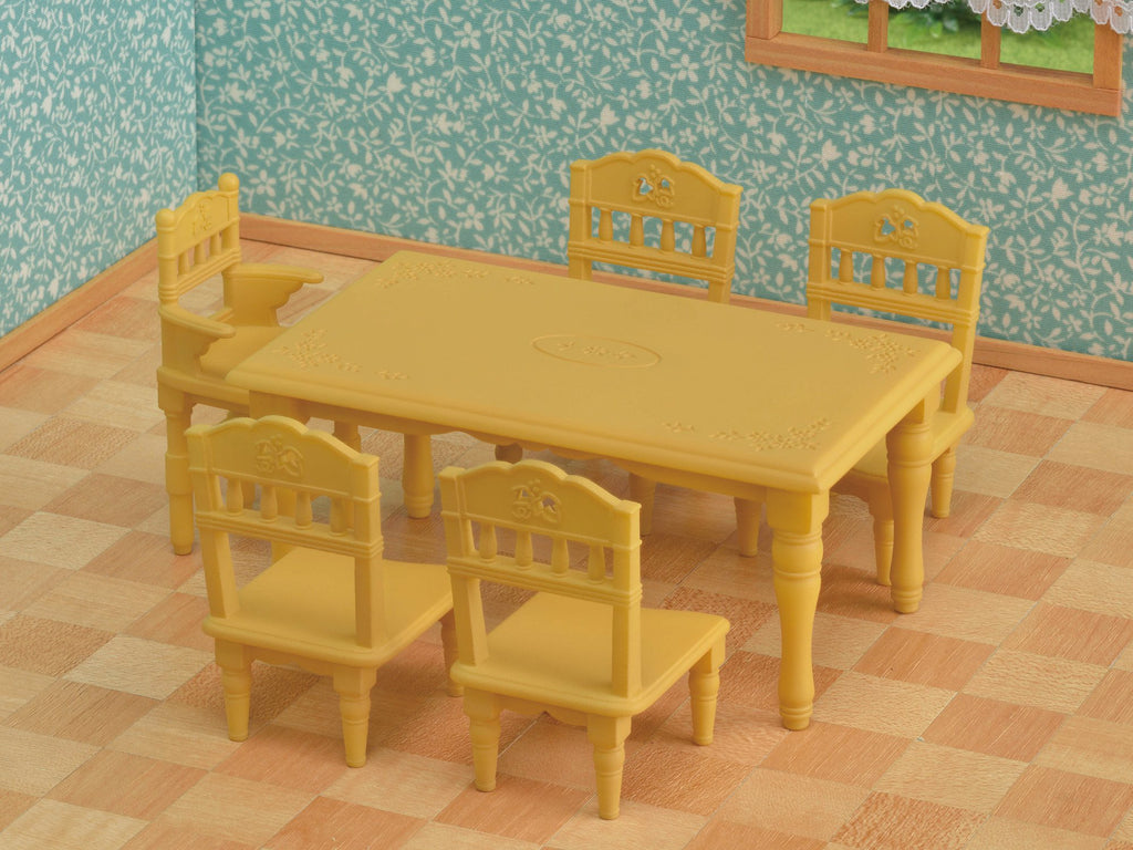 Furniture Dining Table Set Ka-421 Sylvanian Families Japan
