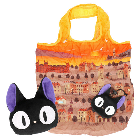 Kiki's Delivery Service Jiji Eco Shopping Tote Bag Studio Ghibli Japan