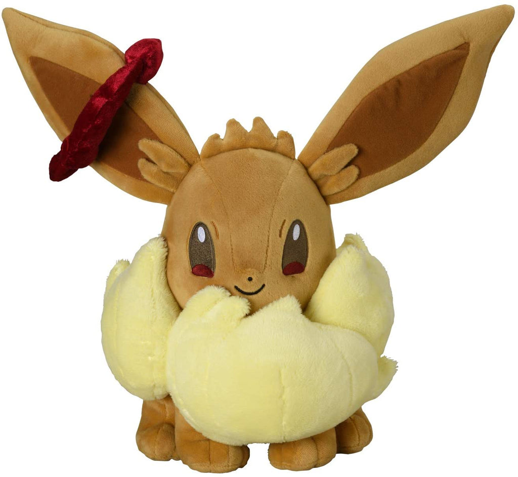 Eevee Eievui Plush Doll Gigantamax G-Max Pokemon Center Japan Original