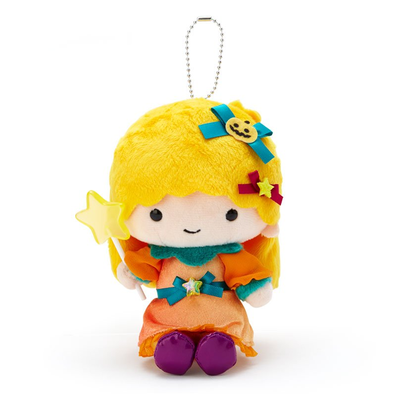 Little Twin Stars Lala Plush Mascot Holder Keychain Sanrio Japan Halloween 2020