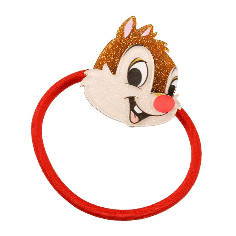 Dale Ponytail Holder Face Kirakira Glitter Disney Store Japan