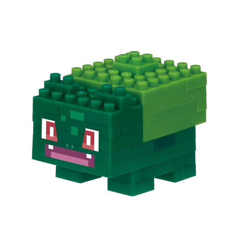 Bulbasaur Fushigidane Block Building Toy nanoblock Pokemon Square Japan