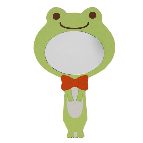 Pickles the Frog Hand Mirror Impersonator Green Japan