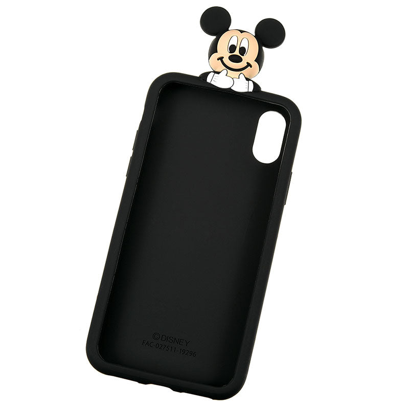 Mickey Silicone iPhone X / XS Case Cover Peep Disney Store Japan