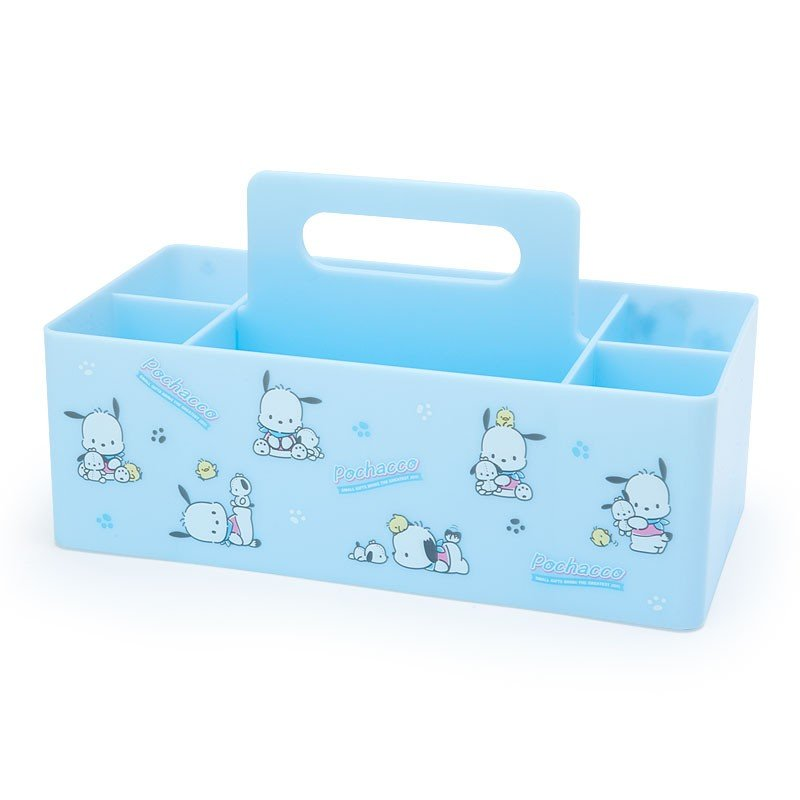 Pochacco Carry Storage Box Sanrio Japan