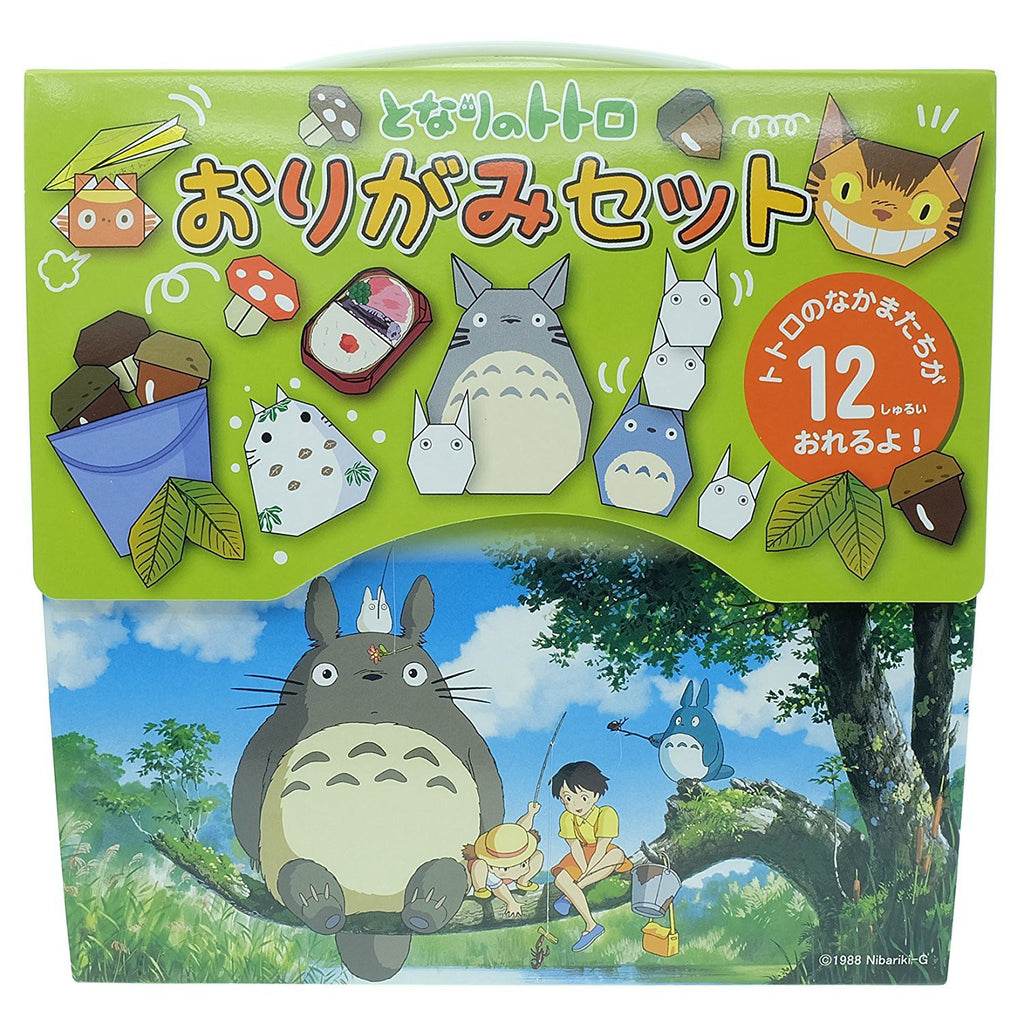 My Neighbor Totoro Origami Folding Paper Set Studio Ghibli Japan