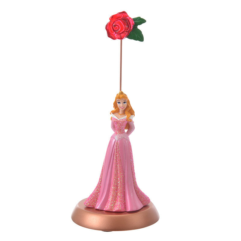 Aurora Figure Card Stand Princess Disney Store Japan Sleeping Beauty