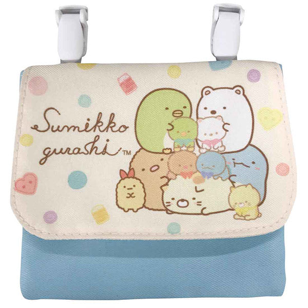 Sumikko Gurashi Pocket Pouch Shirokuma's Handmade Plush Doll San-X Japan