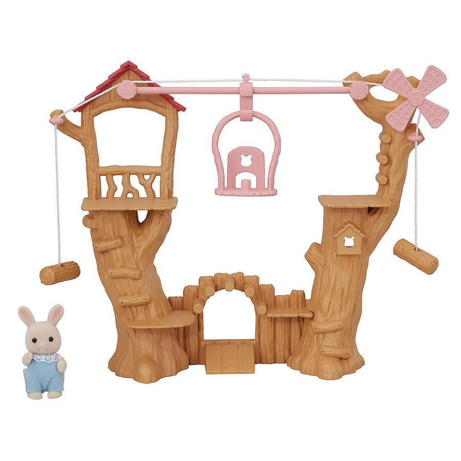 Cute Cable Car Ropeway Set Ko-64 Furniture Sylvanian Families EPOCH Japan