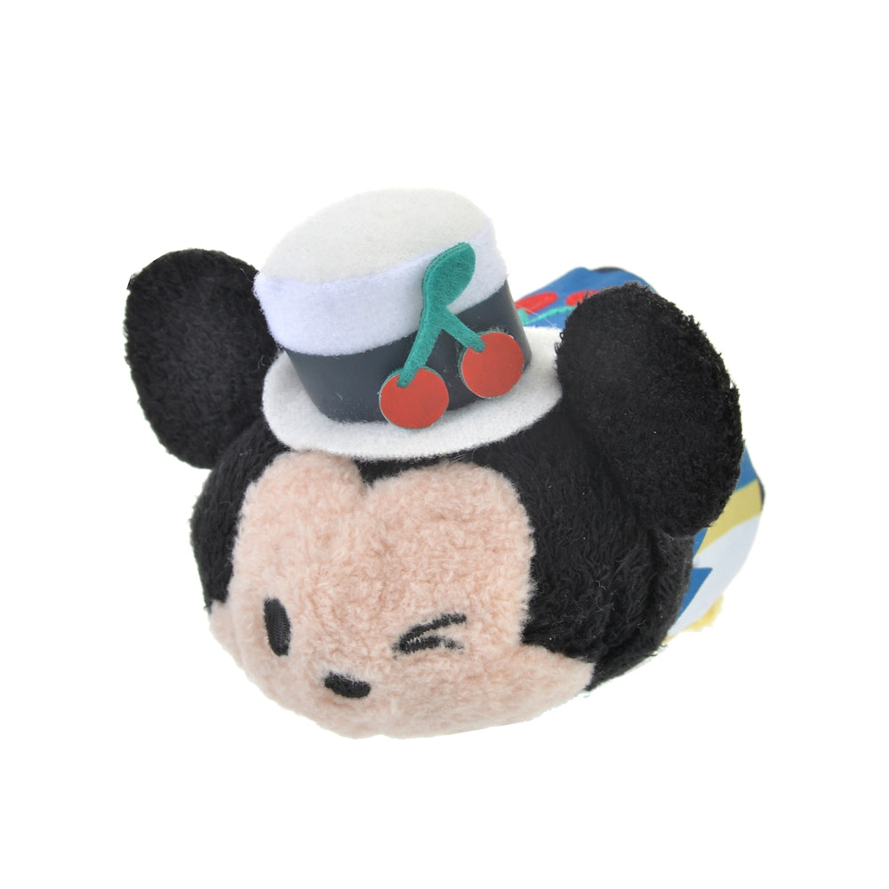 Mickey Tsum Tsum Plush Doll mini S Cherry Disney Store Japan