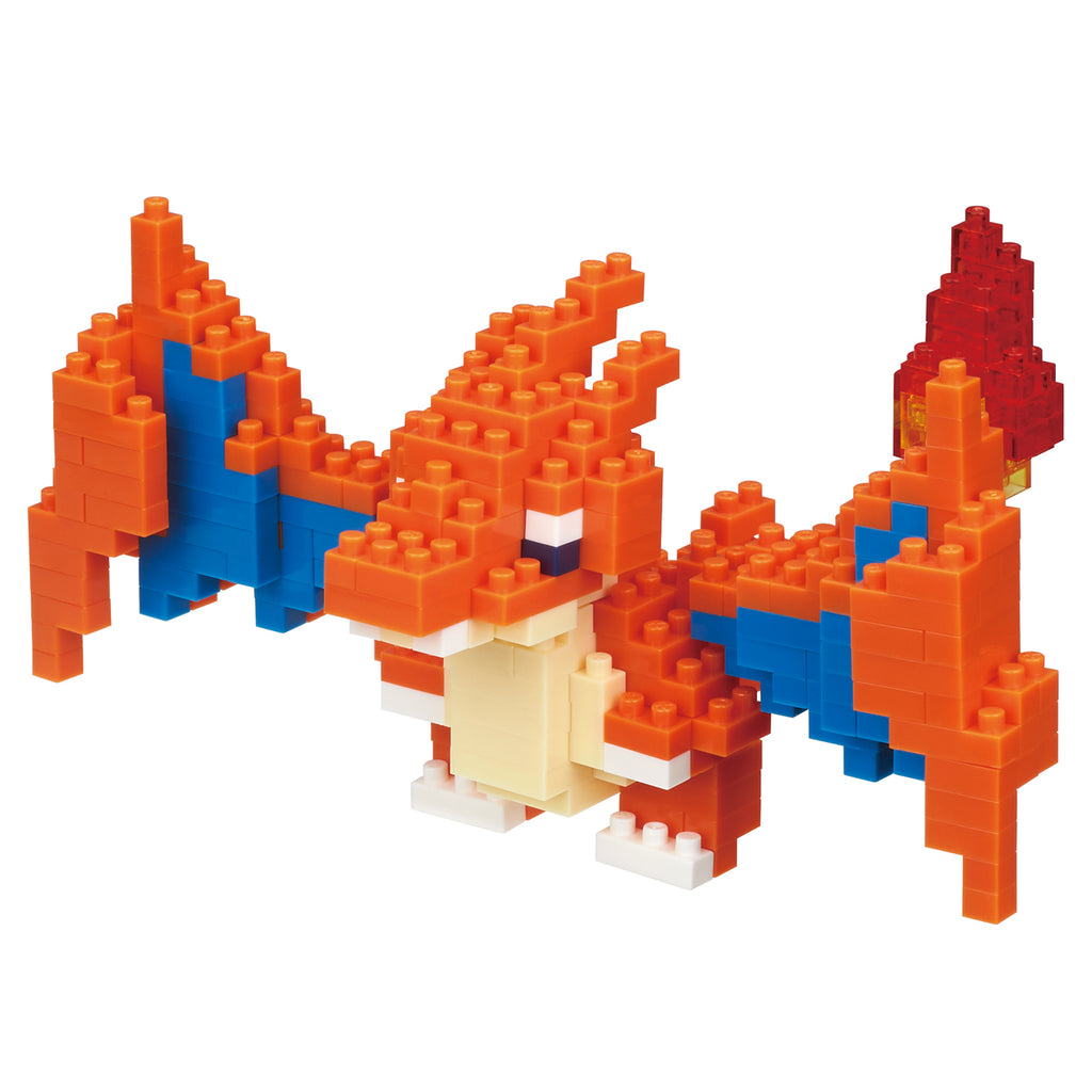 Mega Charizard Lizardon Y Block Building Toy nanoblock Pokemon Star Japan