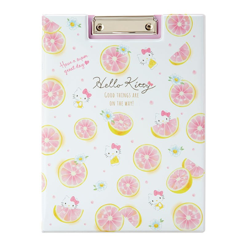 Hello Kitty Clipboard A4 Happiness Girl Sanrio Japan 2021