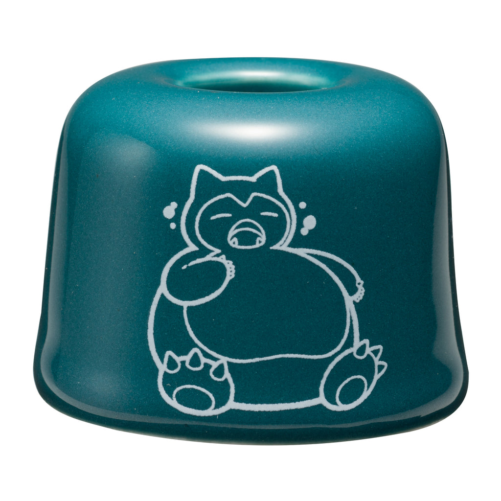 Snorlax Yawn Kabigon Ceramic Toothbrush Stand Pokemon Center Japan Original